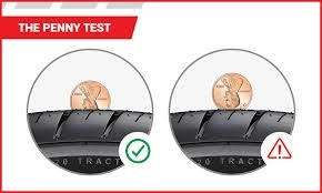 Penny trail tire test