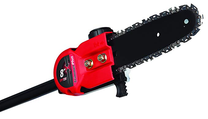 TrimmerPlus PS720 8-Inch Pole Saw with Bar and Chain
