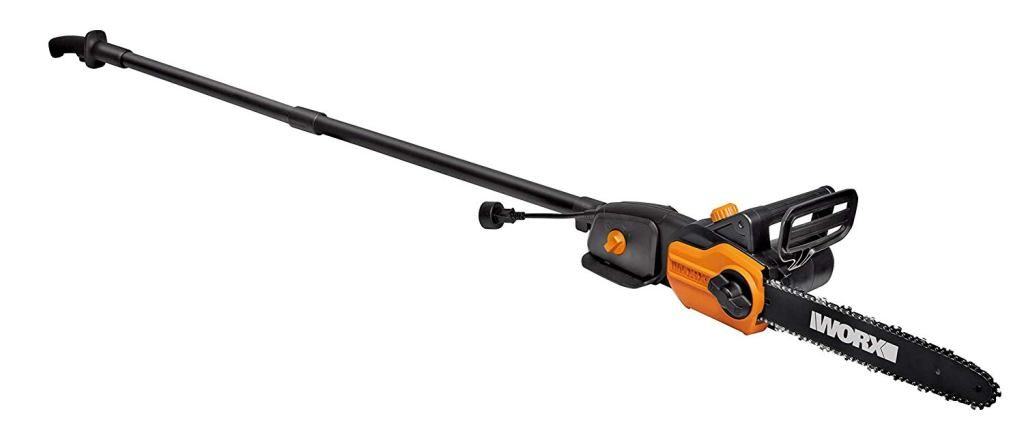 Worx WG309 Electric Pole Saw, 10-Inch