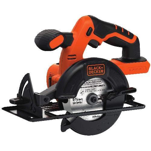 BLACK+DECKER BDCCS20B 20-volt Max Circular Saw Bare Tool, 5-12-Inch