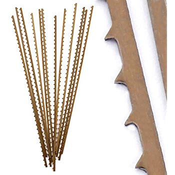 Scroll Saw Blades for Thick Wood, 12-Pack