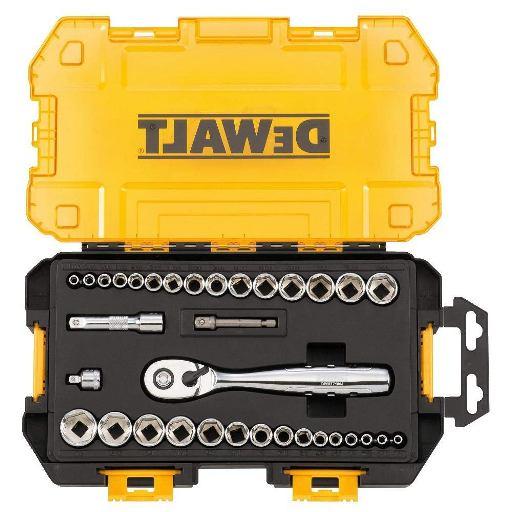 DEWALT DWMT73804 Drive Socket Set (34 Piece), 1-4 and 3-8