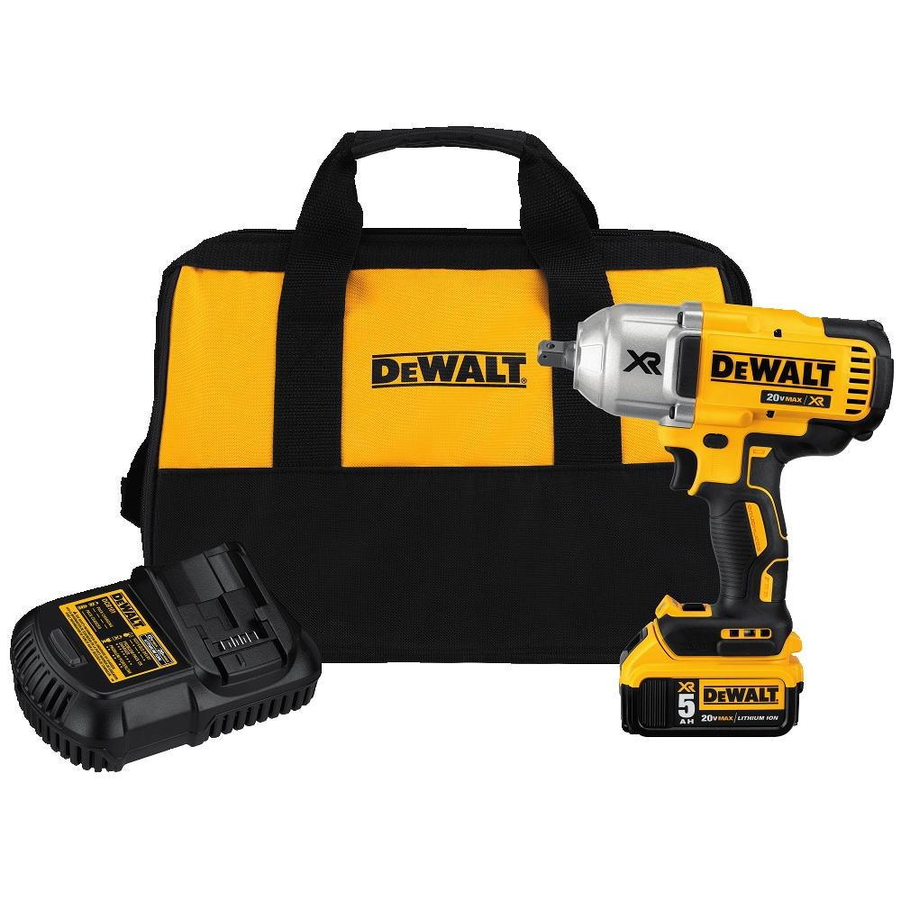 DEWALT DCF899P1 Best Cordless Impact Wrench for Changing Tires